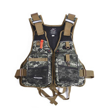 Safety Fishing Clothes Life Vest Professional Life Jacket Survival Vest for Swimming Kayaking Drifting with Emergency Whistle(China (Mainland))
