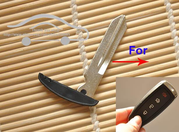 Uncut Emergency Key Blade Fits For  FORD Edge Escape Explorer  Smart Remote Insert Key Blade <br><br>Aliexpress