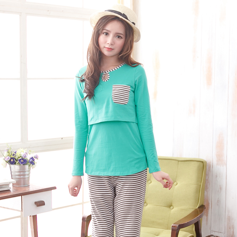 Competitive Light Pink L Pajamas online, Gamiss offers you Printed Long Sleeve Nursing Pajamas Set at $, we also offer Wholesale service.
