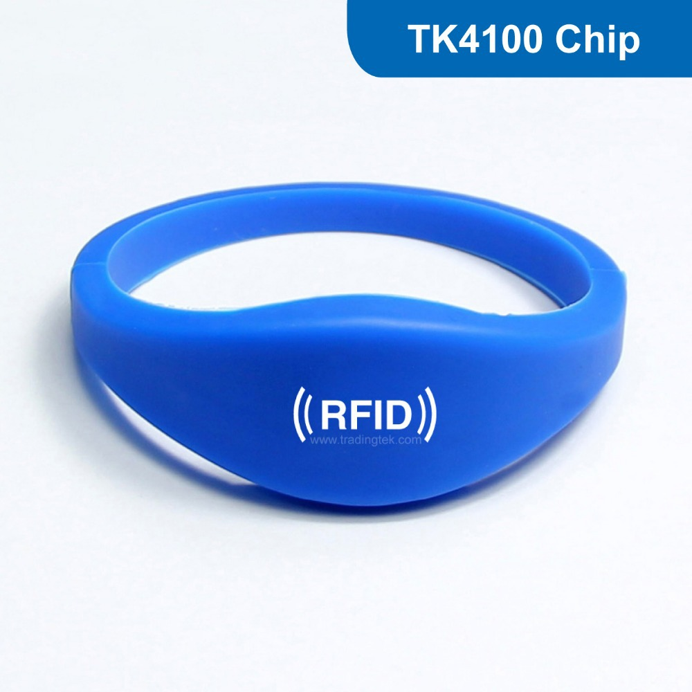 Waterproof Smart Silicone RFID Wristband for Event, Silicone RFID Wristband RFID Bracelet with TK4100 CHip Free Shipping<br><br>Aliexpress