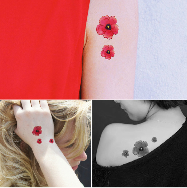 Fashion waterproof body tattoo stickers hot sale new for Tattoo stuff for sale