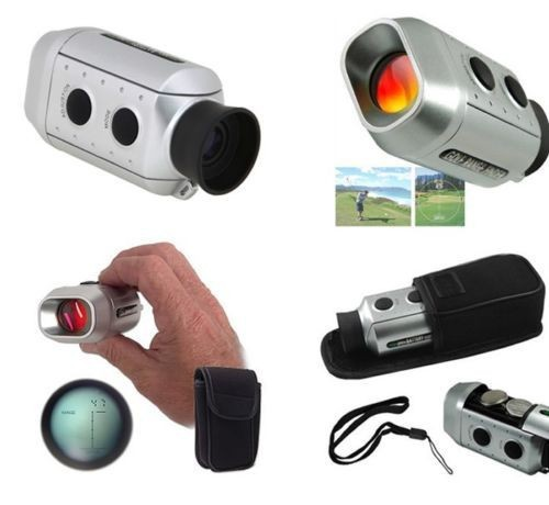 Brand New Digital Pocket 7x Golf Range Finder Golf Scope Golfscope Yards Measure Distance Free Shipping