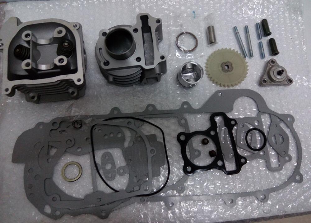 60cc Big Bore Performance Kit font b GY6 b font 50cc 139QMB Chinese Scooter Parts 44mm