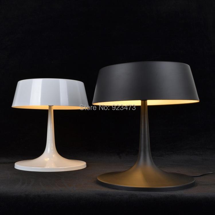 novelty modern black table lamp for home beside bedroom living room