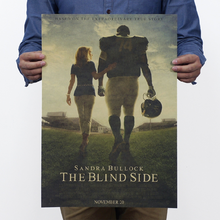 the blind side movie essays The blind side movie the blind side movie is an american movie release in 2009 about an american football player, which storyline is really expected, a rich white american family that saved a black poor american boy from life poverty and helps him become a successful and.