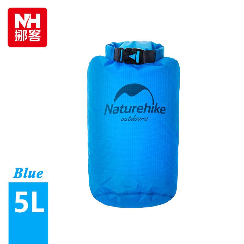 Outdoor Travel Bag 40D Nylon Ultralight Waterproof Rafting Bag Dry Bag Swimming Drifting  Storage Bag 4 Colors 2L-Naturehike <br><br>Aliexpress