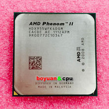 Buy AMD Phenom II X4 955 3.2 GHz 95w Quad-Core CPU Processor HDX955WFK4DGM Socket AM3 for $38.18 in AliExpress store