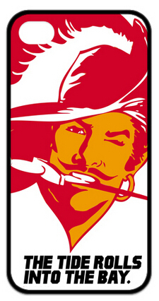 High Quality 1Pc Case Tampa Bay Buccaneers Case for Apple Iphone 5 5S 4 4S i6 i6plus(China (Mainland))
