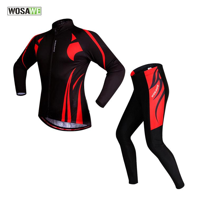 WOSAWE Women Mens Cycling Jersey Set Motorcycle Motocross Racing Downhill MTB Bike Jerseys Pant Sports Wear Cycling Clothings<br><br>Aliexpress
