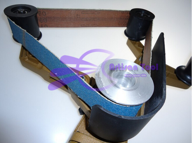 220V трубки пояса Сандерс полотер, портативный, шлифовальные машины для обработки труб из нержавеющей стали, шлифовальный инструмент