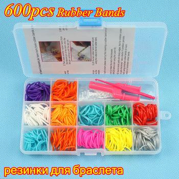 Дешевые продажа 1 российские популярные резинки для браслетов ткацкий станок полосы пополнить ткачество комплект для DIY марка резинки браслет дети подарок