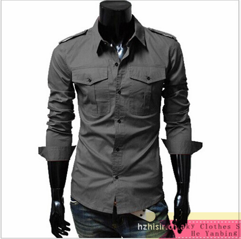 Slim Fit Casual Button Down Shirts | Is Shirt