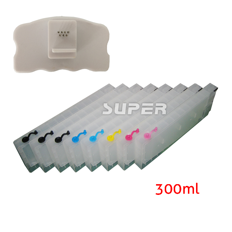 Cheap print cartridges for Epson stylus pro 4880 with chips and chip resetter on high quality(China (Mainland))