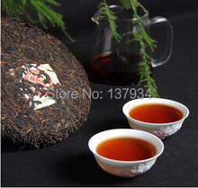 Made in1985 ripe pu er tea 357g oldest puer tea ansestor antique honey sweet dull red