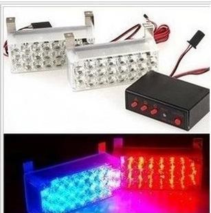 2x 22 led car flash lamp LED Flashing Warning Emer...