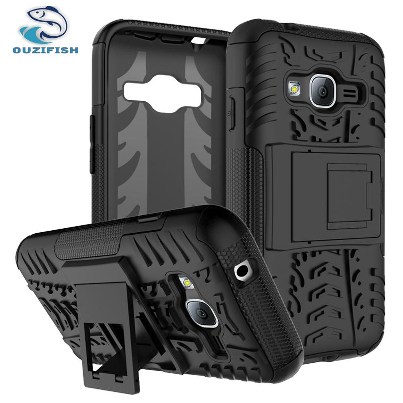 , OUZIFISH Samsung Galaxy J1 Mini Prime Shockproof Case Samsung Galaxy J1 Mini prime back Cover stand