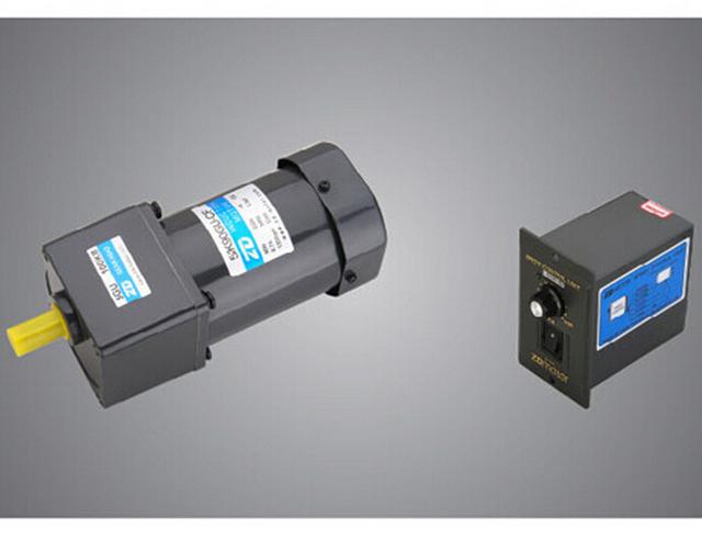 4 motor 90w 220v single phase ac gear motors with 4 speed for Single phase ac motor speed control