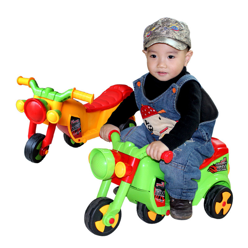 2015 kids children bicycle tricycle infant walkers on wheels for 1-4year child Motorcycle baby walker boys ride on toys 383(China (Mainland))