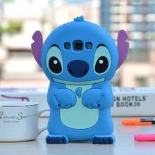 3d soft silicone cute cartoon stitch phone cases samsung galaxy A3 A5 A7 J1 J2 J3 J5 J7 2015 2016 J510 J710 back cover - Threesha Digital accessories Store store