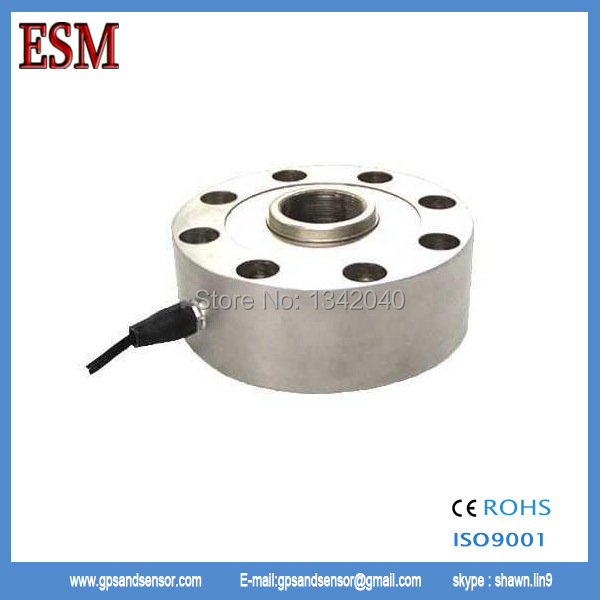 Spoke Type Compression Load Cell Round Pancake Type Load