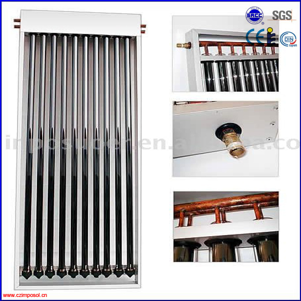 EN12975 high pressure U pipe solar thermal collector(China (Mainland))
