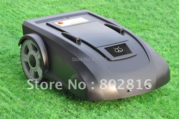 Virtual Wire 100m,Robot Grass Trimmer+New Function :ELECONTRONIC COMPASS ,HELP MOWER GOES WELL IN SLOPE LWAN+Li-ion Battery