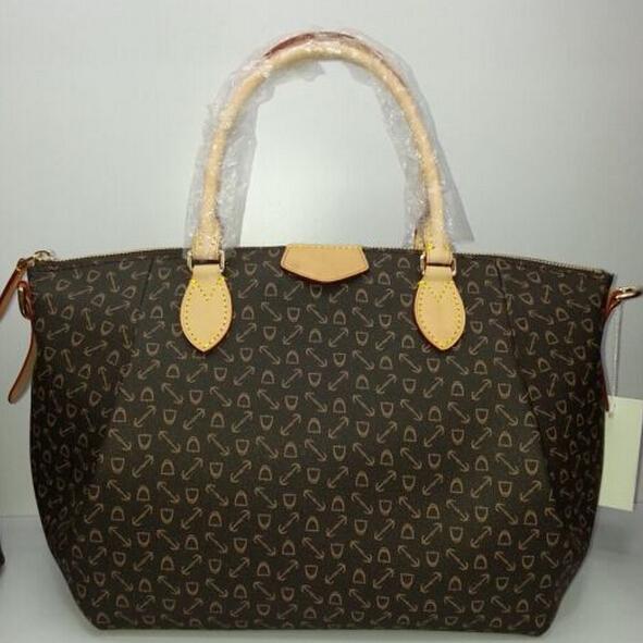 Great ! lady fashion TURENNE canvas &amp; oxidant real leather tote mini pm mm gm genuine leather crossbody bag handbag shoulder bag<br><br>Aliexpress