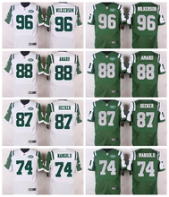 For Mens,Matt Forte,Keyshawn Johnson,Brandon Marshall,Joe Namath,Geno Smith,GREEN WHITE Rush Free Shipping stitched Jet PIC(China (Mainland))