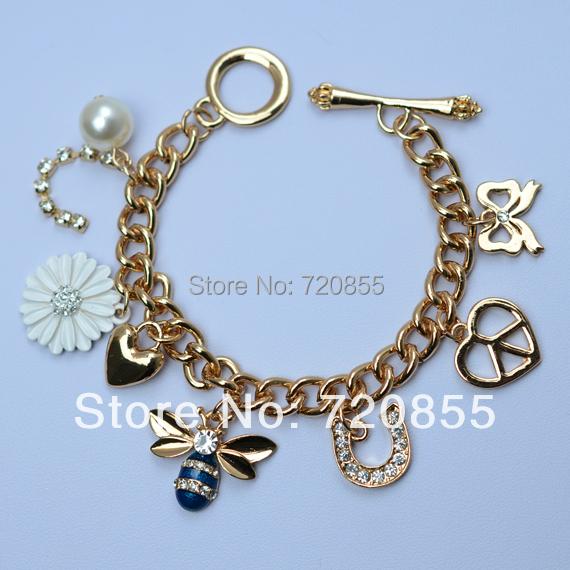 Jewelry for teenage girls gold jewellry in charm bracelets from