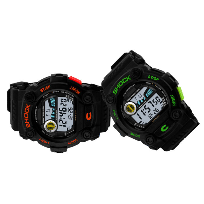 2015 Boys And Girls Outdoor Sports Timing Personality Neutral Table Quartz Men Mens Watches Wristwatches Top