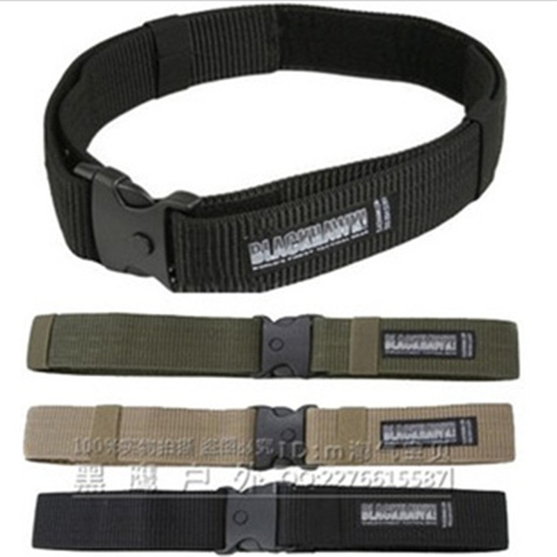 Blackhawk military tactical belt nylon webbing Outside Strengthening Canvas Waistband - Outdoor's Equipment store