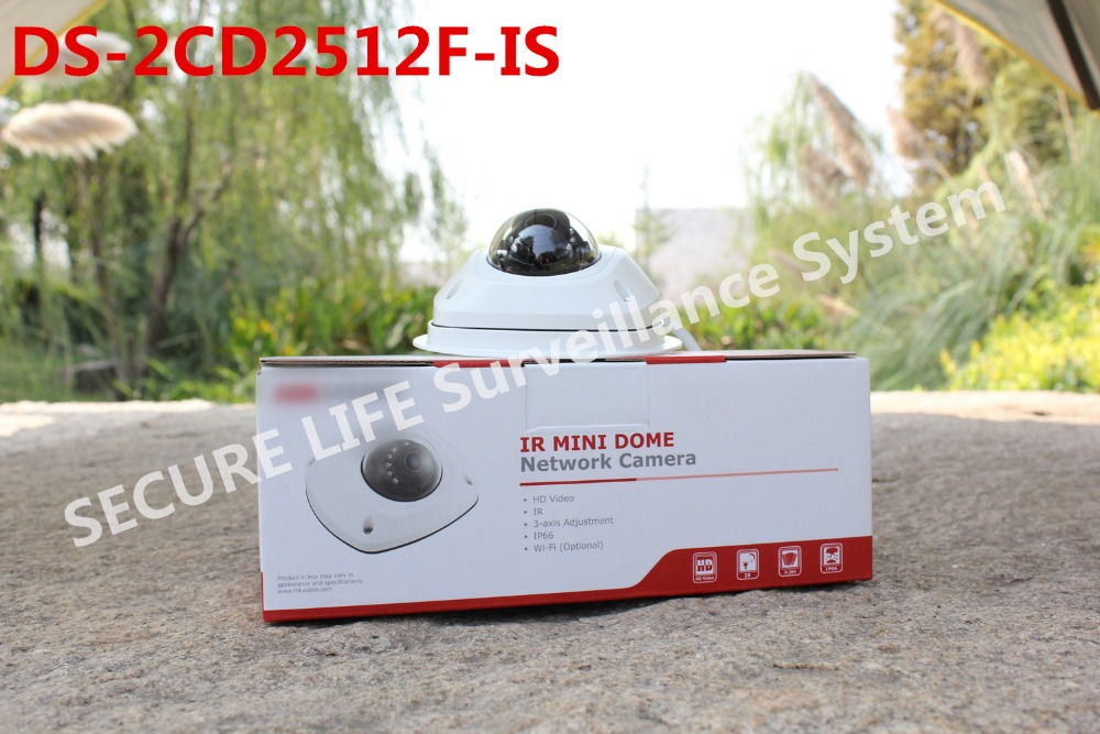 Hikvision 2014 New dome camera DS-2CD2512F-I, audio,Wifi ,1.3MP Mini dome,Up to 10m IR Network IP camera,DS-2CD2512F-IWS<br><br>Aliexpress