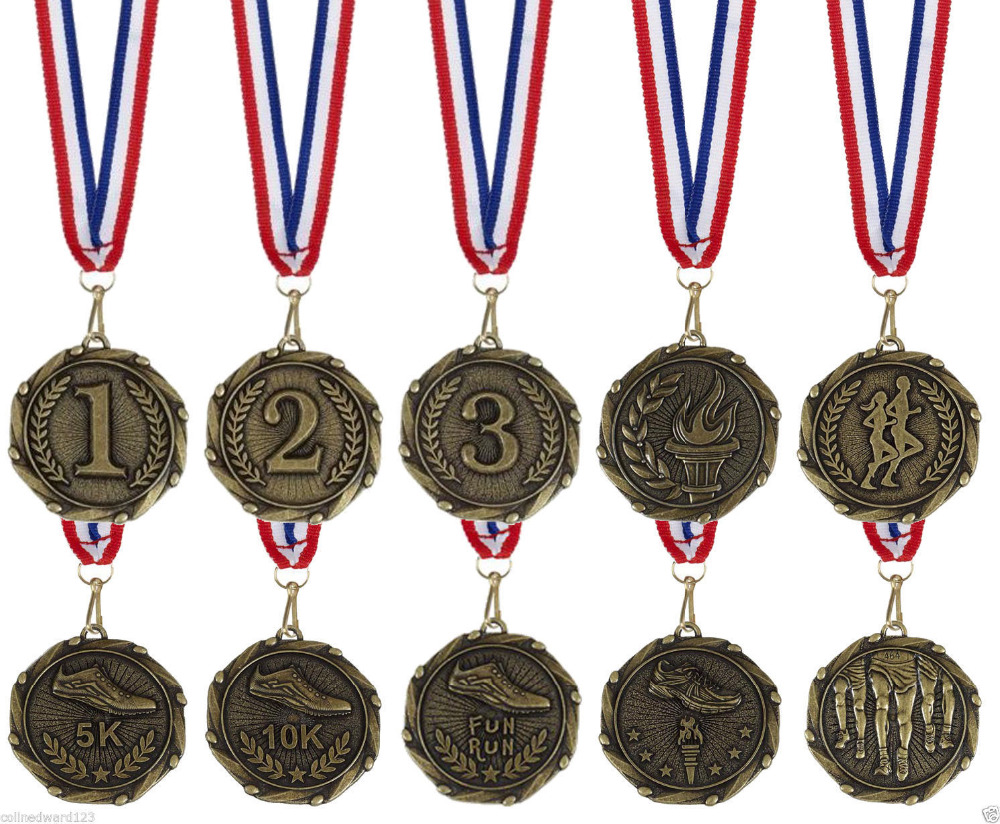 Low price running medal big discount custom metal 3d medals wholesale sports medals hot sales Athletic Running Medal(China (Mainland))