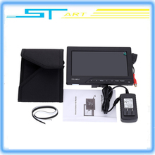 Rc Drone HDMI Out with Sun Shield Feelworld FPV-769A 7inch HD 800*480p FPV Monitor for FPV RC Helicopter Quadcoter DSLR Camera