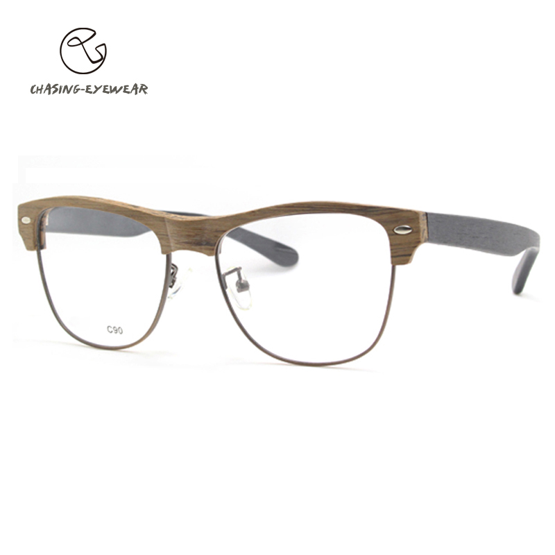 Glasses Without Frame On Top : Aliexpress.com : Buy 2016 Fashion Metal half rim frame ...