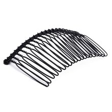 5 Pack MYTL 10pcs Hair Comb Pin Black Accessories Iron Lady Vintage