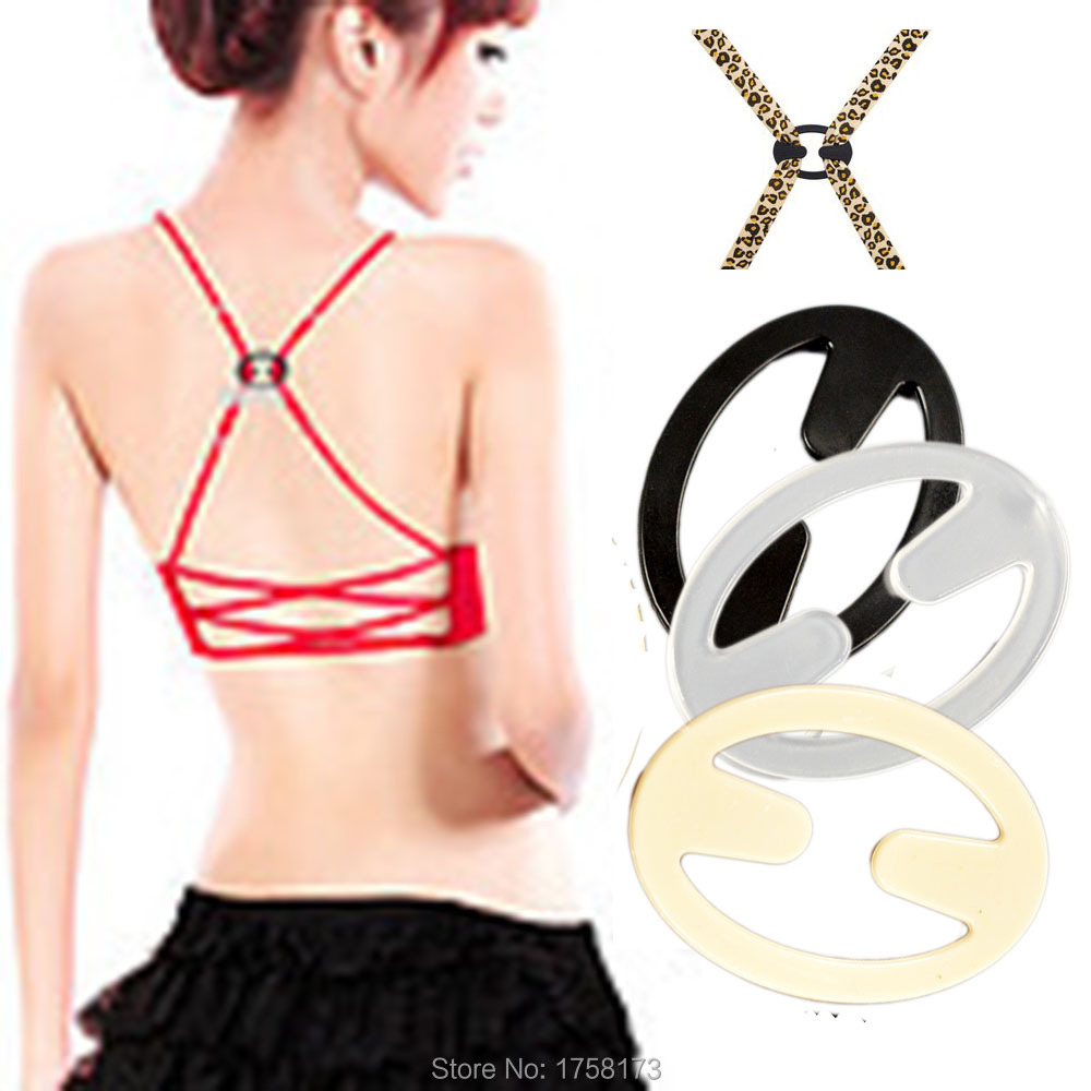 15 Pcs Bra Buckle Clips Back Strap Holder Perfect Adjust Belt Clip Cleavage Control Front free shipping(China (Mainland))