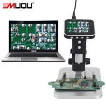 Electrón microscopio de larga distancia del objeto digital USB Microscopio Digital herramienta de soldadura bga reparación del reloj del teléfono Puede ser de mano(China (Mainland))