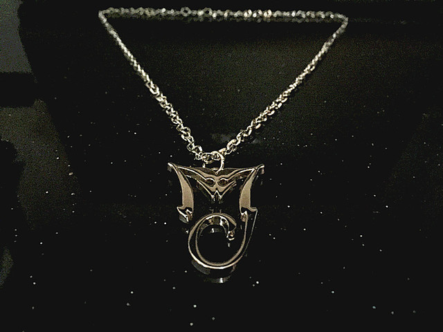 Michael Jackson Michael Jackson Album BAD pendant necklace MJ style
