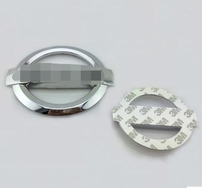 front/rear/steering wheel Emblem 128x108 117x100 124x104 100x86 88x75 84x58 78x56 58x54mm Flat back for Japan car NI**** series(China (Mainland))