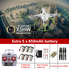 Syma X5HW RC drone Helicopter 2.4G X5SW X5C Upgrade Syma X5HW Drone With Camera Rc Quadcopter Drones With Camera HD Dron