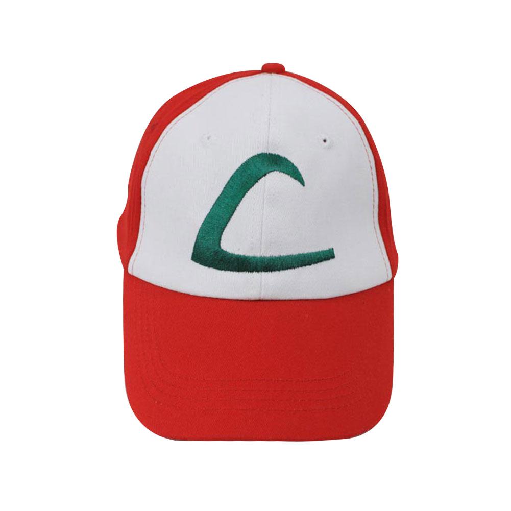 Unisex Men Women Chic Popular Fashion Pokemon Ash Cap Embroidered Adjustable Hat Headwear Casual Peaked Cap(China (Mainland))