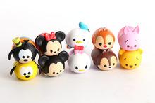 Free shipping 10pcs/lot Tsum Tsum Figures Toys For Children