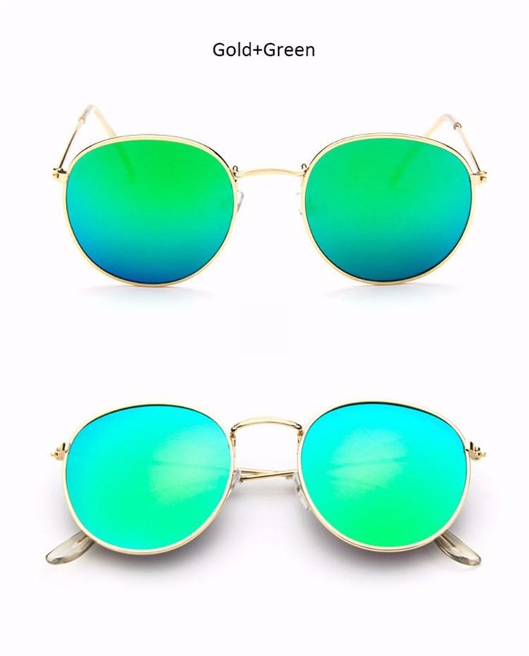 Luxury Vintage Round Sunglasses Women Brand Designer Female Sunglass Points Sun Glasses For Women Lady Sunglass Mirror 2017 Rays (13)
