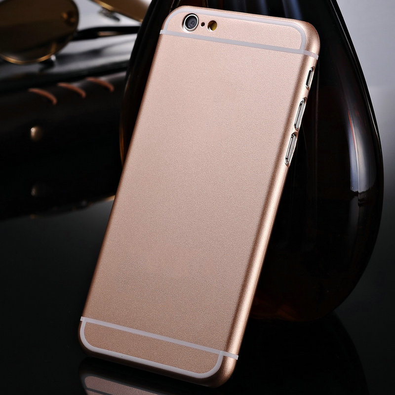 Original Fashion Hard Case for iPhone 6 4.7 Inch Para Capa Ultra Thin Slim Matte Plastic Protective Back Cover Coque With Logo(China (Mainland))