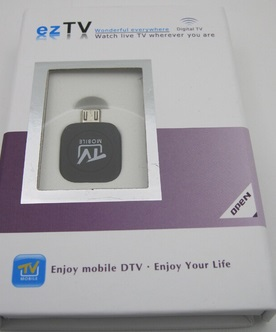 Mini USB DVB-T HD TV Tuner Stick Dongle for Android Tablet Phone Samsung + more(China (Mainland))