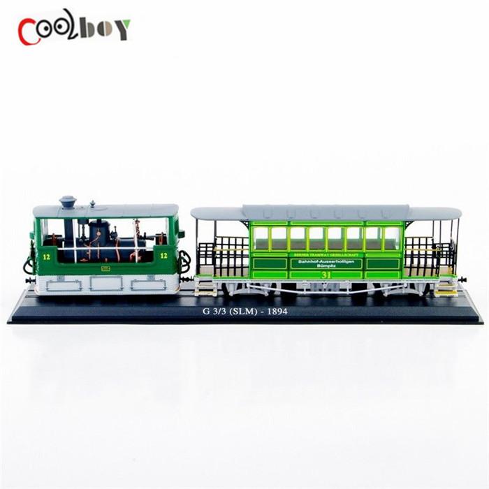1:87 G 3/3 (SLM)-1894 Tram Car /Train Model Car Model Toys Collection(China (Mainland))