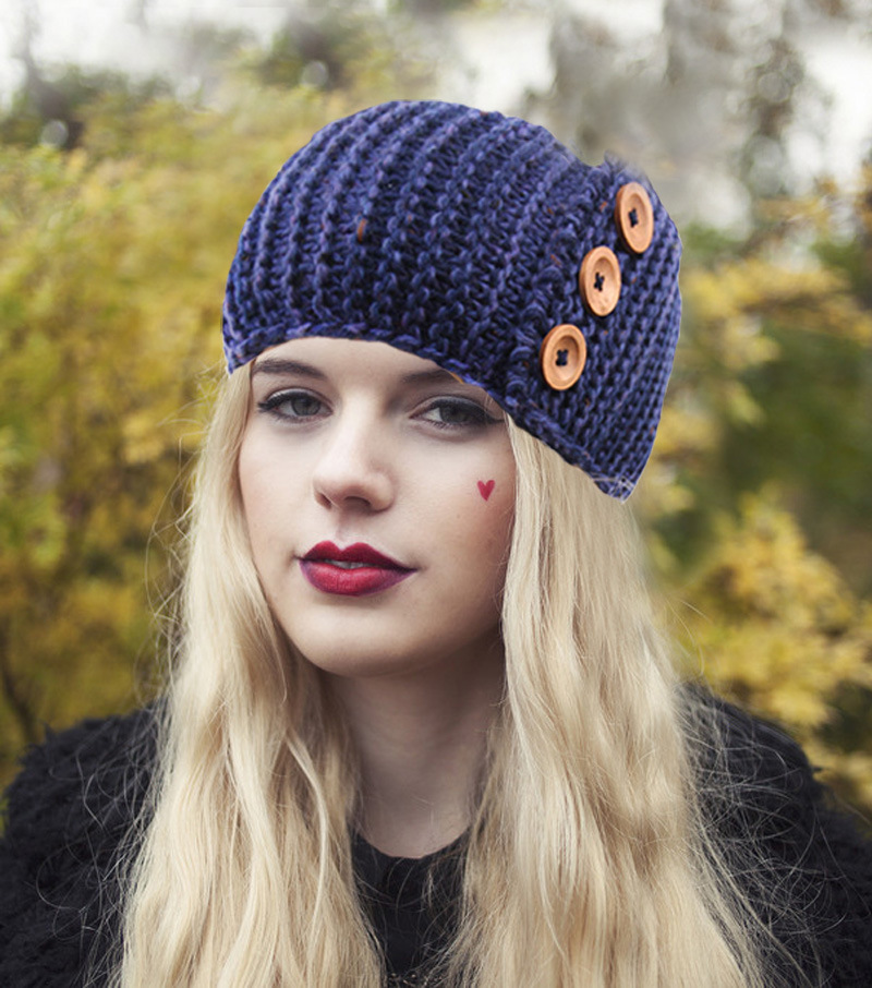 Free Crochet Pattern For Ladies Headband : Wholesale Womens Headband Crochet Winter Headband for ...