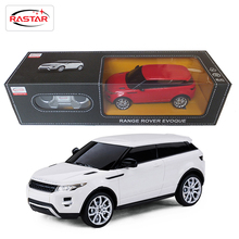 Licensed 4CH Rastar RC Cars 1:24 Scale Range Rover Evoque Remote Control Toys Machines On The Radio Controlled 2016 New 46900(China (Mainland))