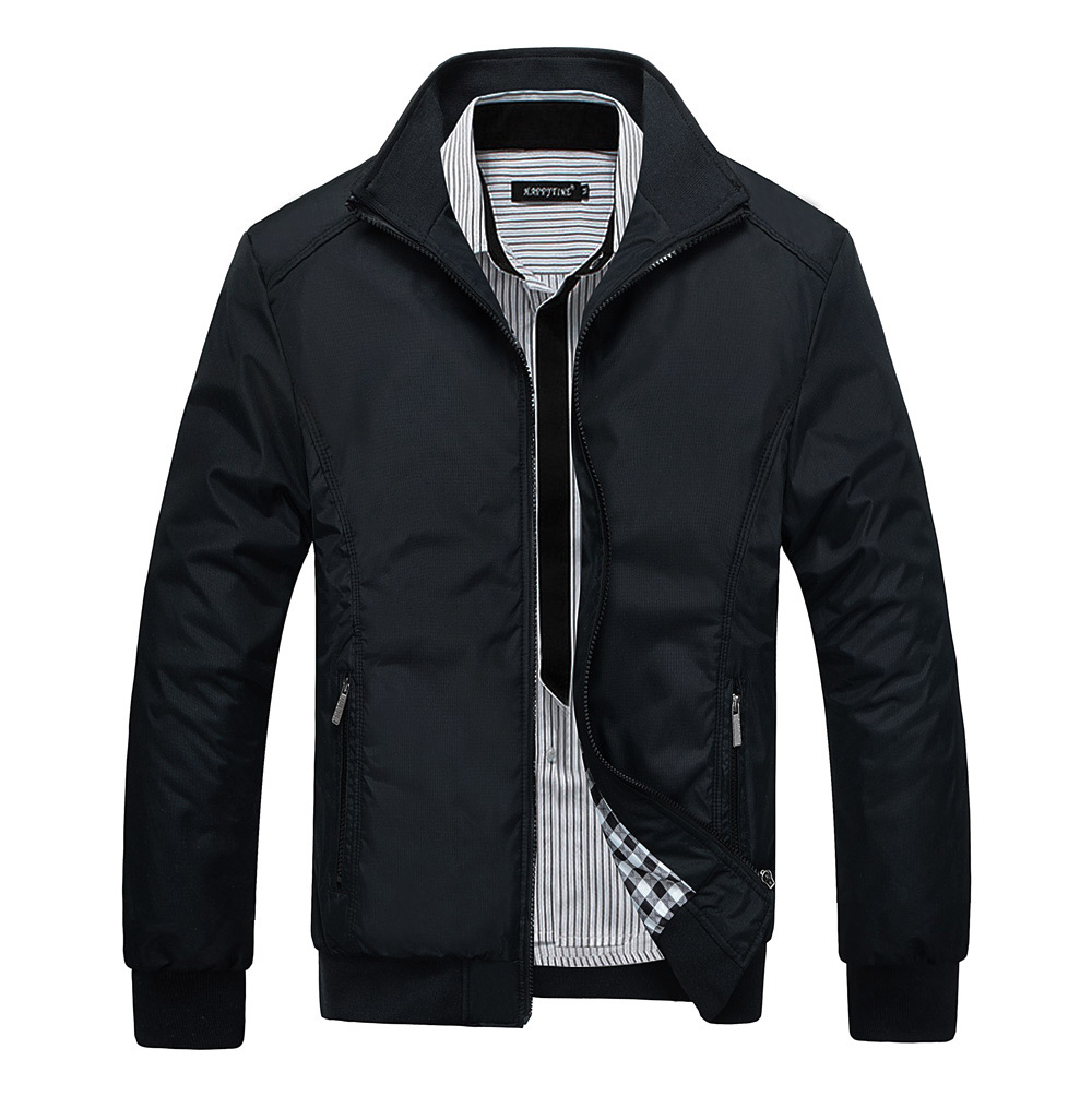 mens windbreaker coat outdoor brand casual bomber jacket men stylet 2016 New Turn-down Collar Slim Whole Sale and Coats 4XL 5XL(China (Mainland))